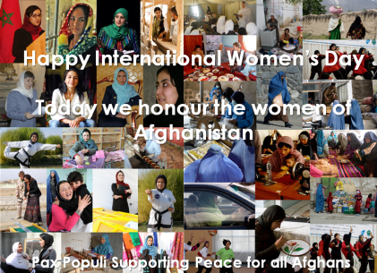 Supporting peace for all afghans