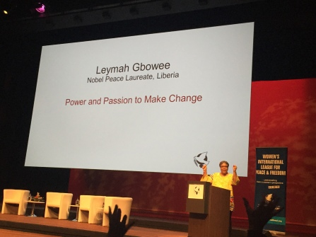 Leymah Gbowee Nobel Peace Laureate